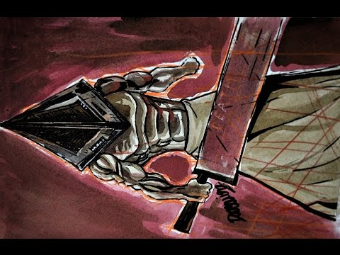 Dibujando a PYRAMID HEAD de Silent Hill 2  YouTube