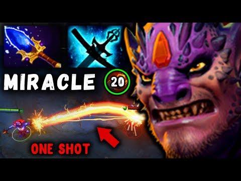 видео: МИРАКЛ на МИДОВОМ ЛИОНЕ! one punch man miracle lion dota 2