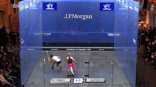 Squash tips: How spin affects a drop shot!