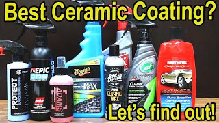 Best Ceramic Spray Coating? Let's find out!