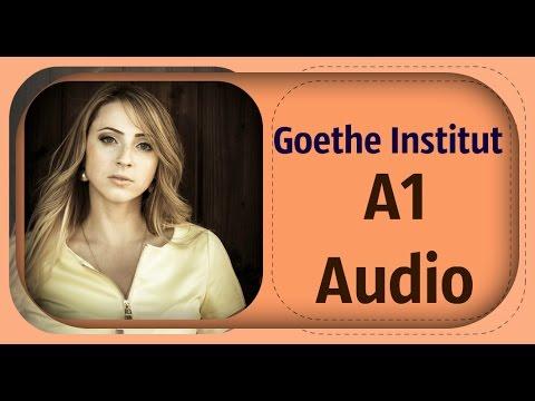 Goethe Institut - Deutsch A1 - Hören Teil 1,2,3