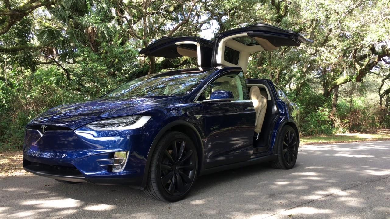 my car collection 2016 tesla model x 75d youtube. Black Bedroom Furniture Sets. Home Design Ideas