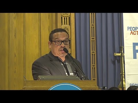 Keith Ellison speaks to 'People's Action'