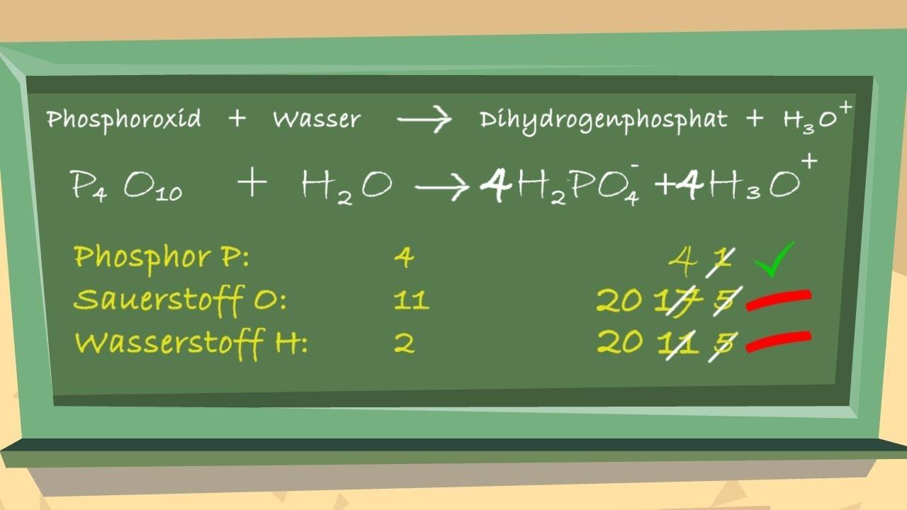 Reaktionsgleichungen aufstellen und ausgleichen (Teil2 ...