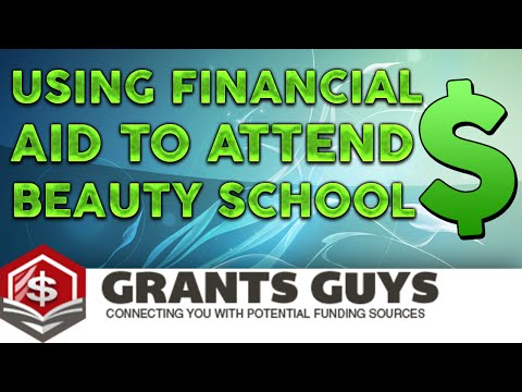 Using Financial Aid to Attend Beauty School
