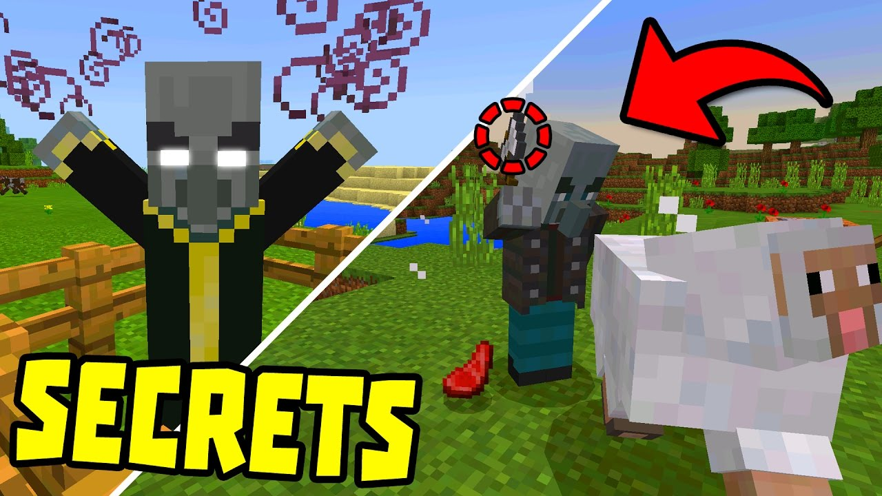 Mcpe 1 1 Secret Features Easter Eggs More Minecraft Pe 1 1 Update Youtube