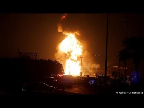 Bahrain says pipeline explosion 'terrorist sabotage' linked to Iran