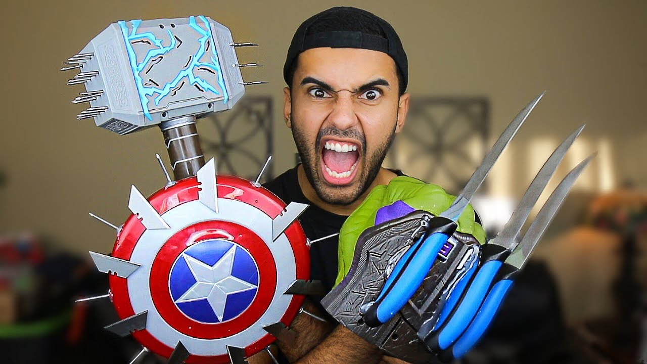 MOST DANGEROUS TOY OF ALL TIME!! (EXTREME NERF / MARVEL ...