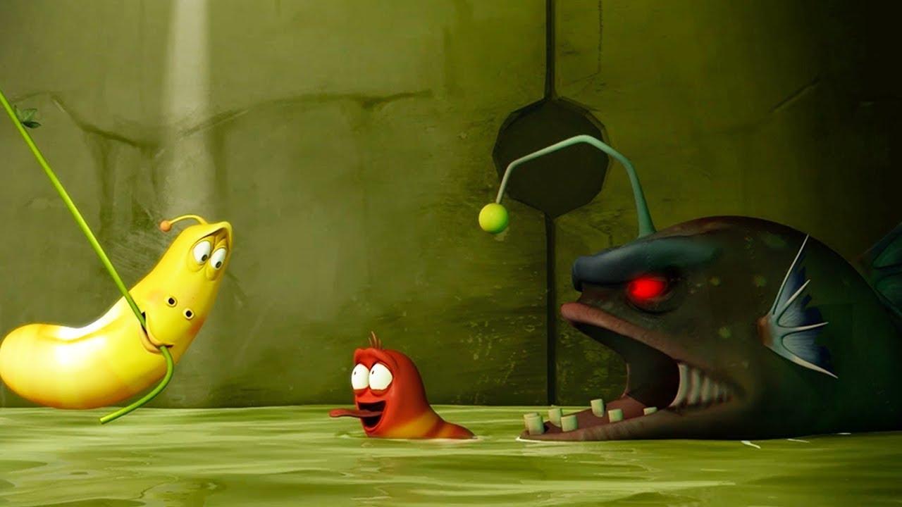 Larva flood cartoon movie cartoons for children larva