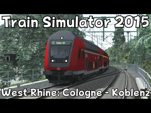 Train Simulator 2015: West Rhine: Cologne - Koblenz with DB BR146.2 / Double Decker Stock