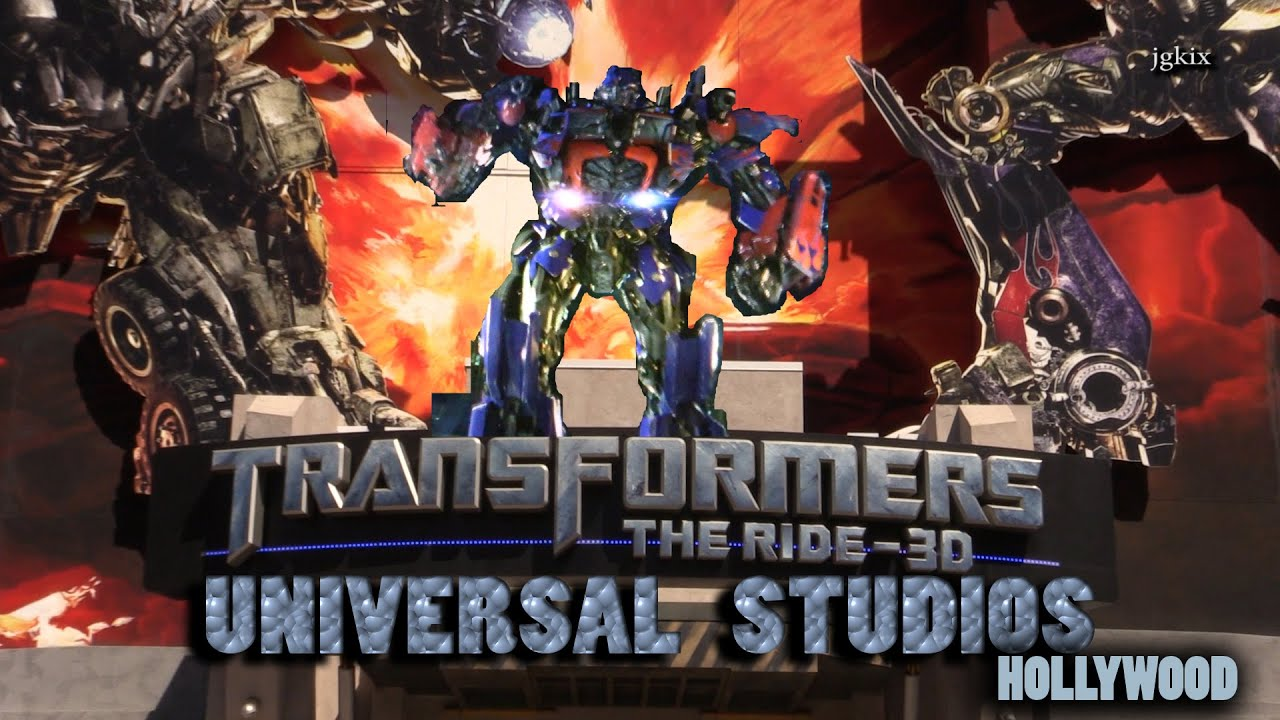 THE RIDE TransFormers 3D Universal Studios Hollywood - YouTube  THE RIDE TransF...