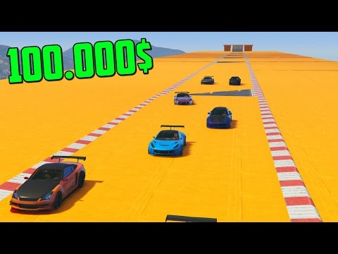 MINIJUEGO! GANO 100.000$ VACILANDO!! - CARRERA ACROBATICA GTA V ONLINE CUNNING STUNTS
