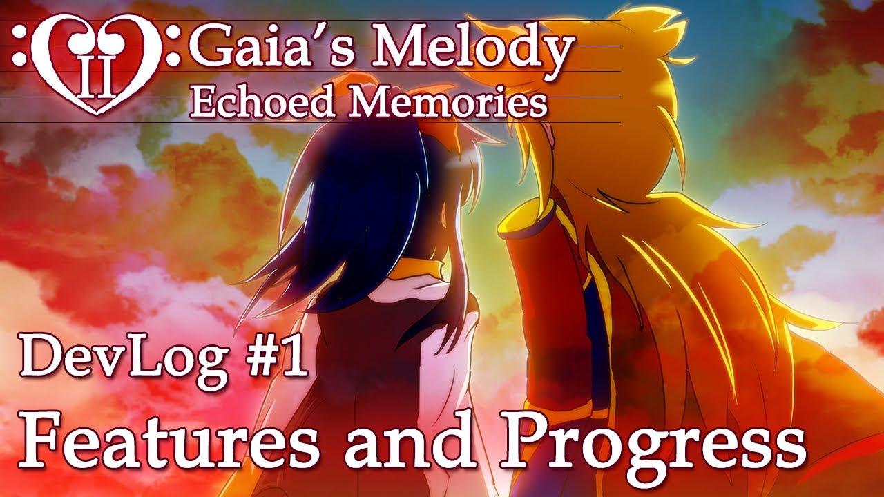 Gaia's Melody EM2 DevLog #1 - Features & Progress (RPG Maker MV)