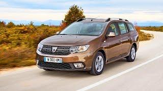 New Dacia Logan MCV - driving footage 2016