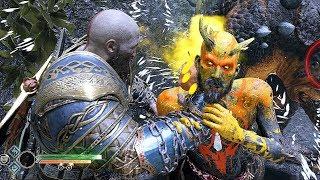 God of War  2018 Treasure Hunter & Free Roam No Damage PS4 PRO