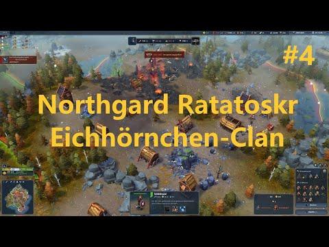 Northgard Ratatoskr deutsch Let's play Eichhörnchen-Clan #4 |