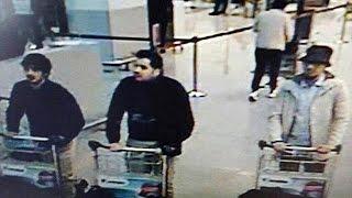 التلفزيون البلجيكي يكشف هوية اثنين من منفذي تفجيرات مطار بروكسل