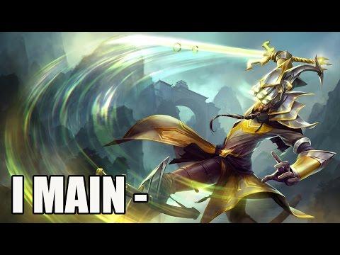 So you want to main Master Yi?