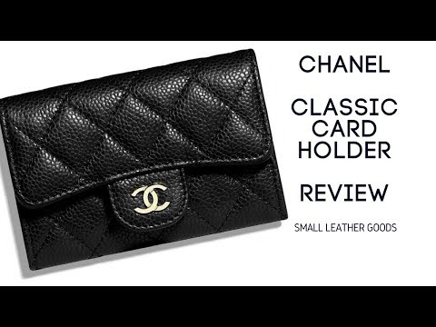 How Much Stuffs Can I Put In This Chanel Caviar Card Holder 556f86d2687db