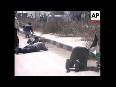 MIDDLE EAST: ISRAELI-PALESTINIAN CLASHES: BURIAL