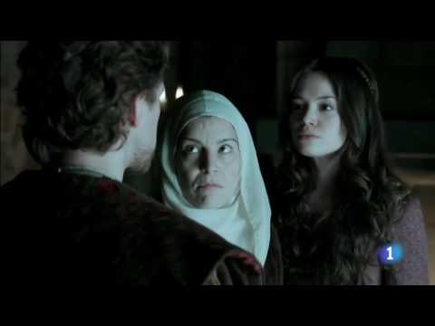 Charles V frees his sister Catherine and makes her Queen of Portugal (Carlos, rey emperador)
