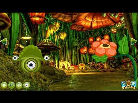 Wow Tinkerbell Fairy World Escape walkthrough..