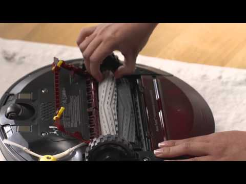 How to clean Roomba 980 vacuum filter and bin