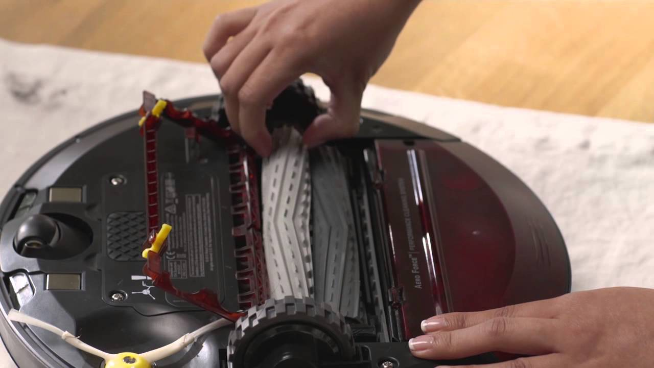 How To Clean Roomba 980 Vacuum Filter And Bin Youtube