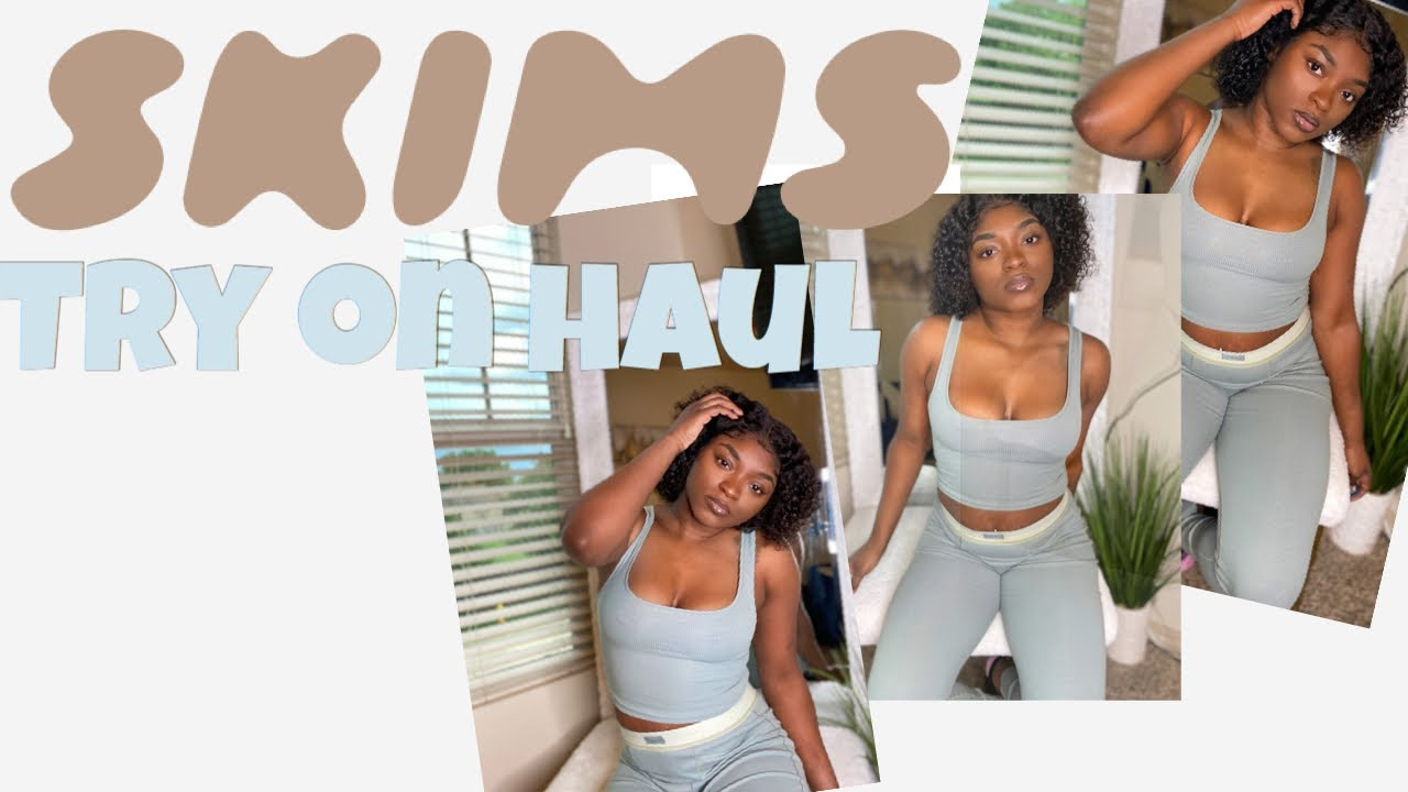Skims Haul and Unboxing Review of the Cotton Collection| Try-On