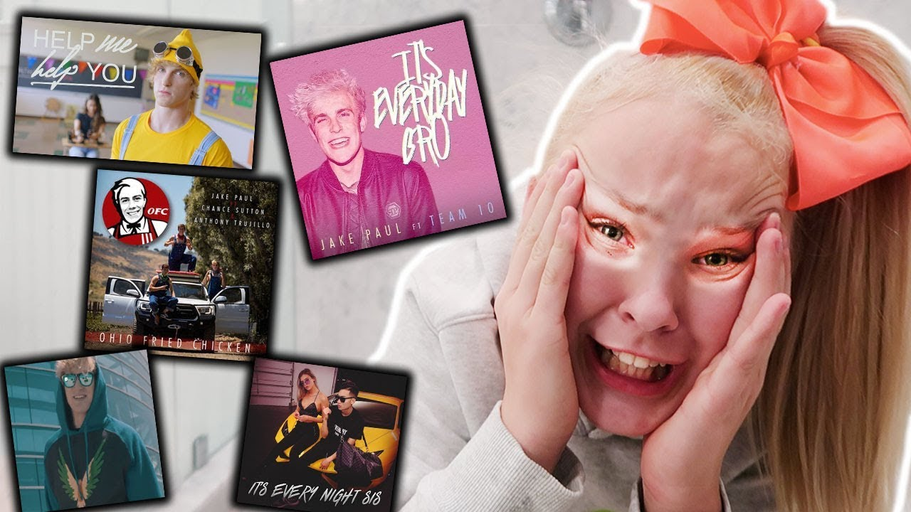 Try Not To Sing Challenge Jake Paul And Logan Paul Songs