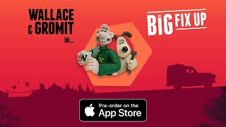 Wallace & Gromit: Big Fix Up is available to Pre-Order on the App Store now!