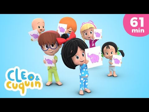 Download Elephant on a Swing and more Nursery Rhymes by Cleo and Cuquin | Children Songs
