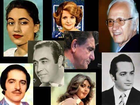 Selection of old Iranian music - persian old music - منتخبی از آهنگ های قدیمی ایرانی