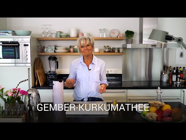 Gember-kurkumathee