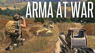 ARMA AT WAR! - Competitive ArmA 3 Gamemode Playtest Gameplay