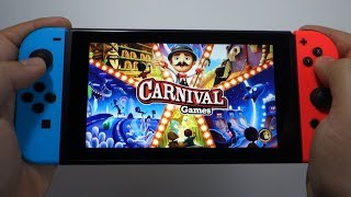 Carnival Games Nintendo Switch Gameplay