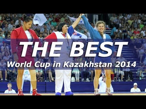 Best Moments. Sambo World Cup in Kazakhstan 2014