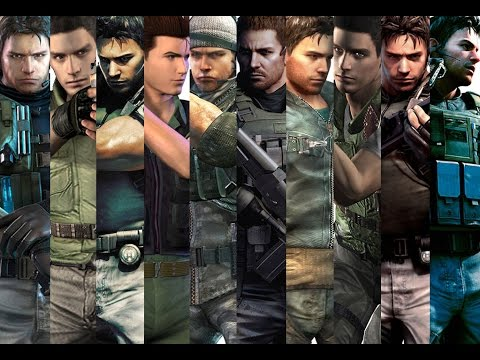 Evolution Chris Redfield Resident Evil Youtube
