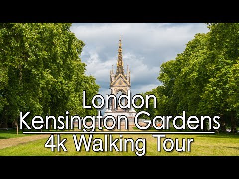 Walking from Earls Court To Kensington Gardens | 4k | Ambient Music