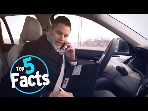 Top 5 Facts about Self Driving Cars