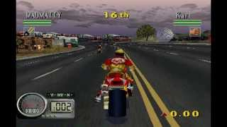 PSX Longplay [242] Road Rash 3D (part 2 of 2)