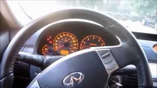 видео Infiniti G35 расход топлива