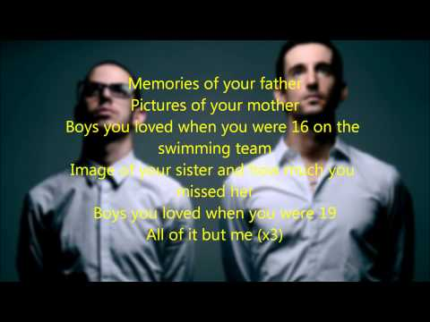 All of it but me The Young Professionals Lyrics Video