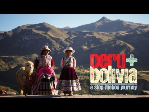 PERU + BOLIVIA | a stop-motion journey | Full HD