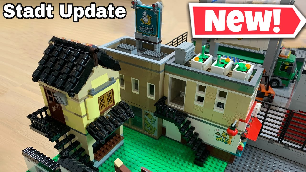 Lego Stadt/City Update #48 Chinatown wird weitergebaut!