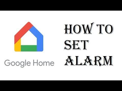 How To Set Alarm Clock Google Home Mini – Google Home Set Alarm Cancel Alarm
