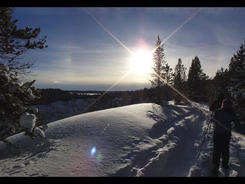 Yellowstone XC Ski and Yurts Dec 2017