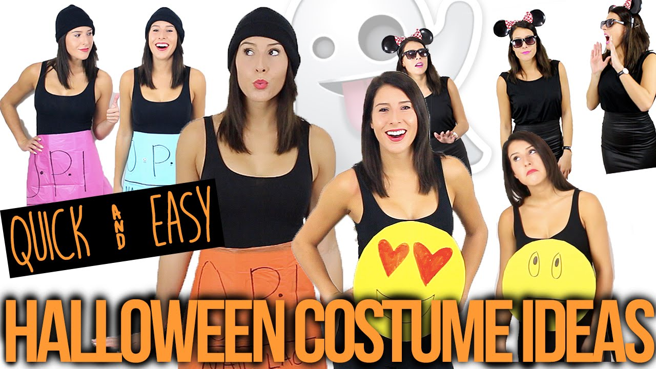 Quick easy group halloween costume ideas youtube solutioingenieria Image collections