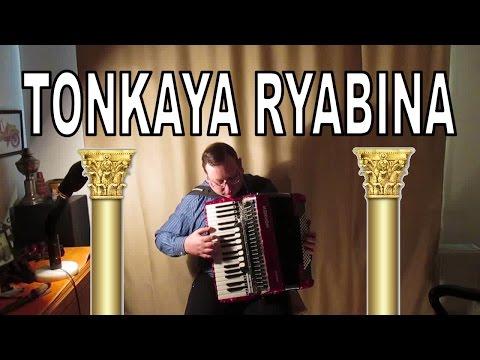 Tonkaya Ryabina Accordion - Tонкая Рябина аккордеон