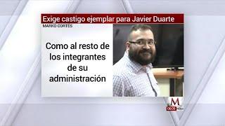 PAN exige castigo ejemplar para Javier Duarte